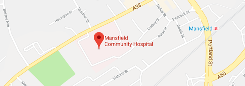 Getting to Mansfield Community Hospital