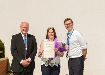 Staff celebrate more than 1,700 years of service at Sherwood Forest Hospitals