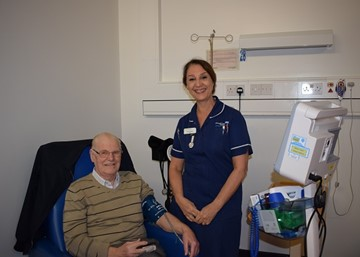 Praise indeed from longstanding Newark patient as NHS celebrates its 70th year