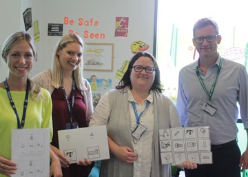 Staff at Sherwood Forest Hospitals learn Makaton and open up a world of communication for little patients