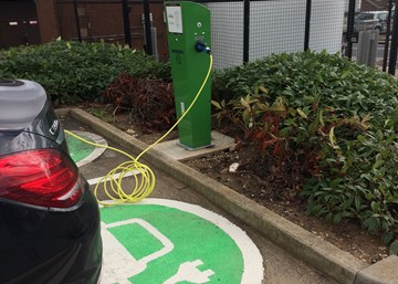 SFH fully charged for electric car use