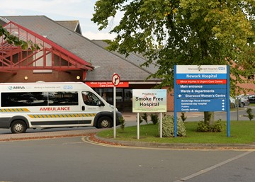 Access to Newark Hospital 5 - 7 October