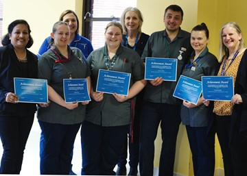 Sherwood Forest Hospitals' Nursing Associates become some of the first in the country to graduate