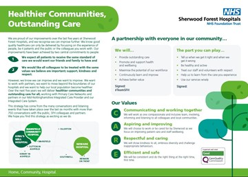 Healthier Communities, Outstanding Care: Sherwood Forest Hospitals sets out its new strategy